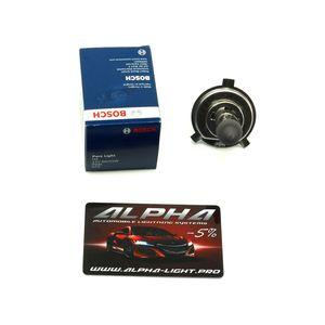 Галогеновая лампа H4 Bosch PureLight 12v 60/55w 1 987 302 041