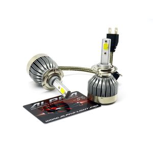 светодиодные лампы Alpha C6 альфа с6 цоколь H7 Н7 купить с гарантией