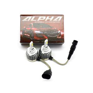 светодиодные лампы Alpha C6 альфа с6 цоколь HB4 НВ4 9006 купить с гарантией