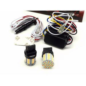 Дневные ходовые огни в поворотники T20 / W21W / 7440 светодиодные лампы