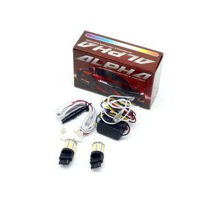 Дневные ходовые огни в поворотники T25 / P27W / 3156 светодиодные лампы