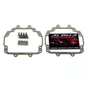Mazda 6 GH галоген переходные рамки Мазда 6 gh галоген купить недорого  Hella 3, Hella R и Koito Q5