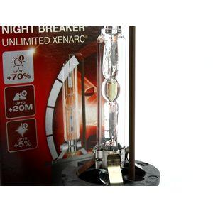 Ксеноновая лампа Osram D2S Xenarc Night Braker Unlimited 66240XNB осрам ксенарк найтбрейкер анлимитед купить недорого с доставкой д2с