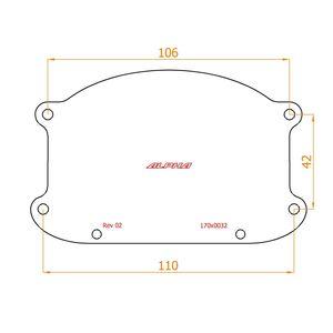 Peugeot 4007 ремонтный комплект фар и отражателей