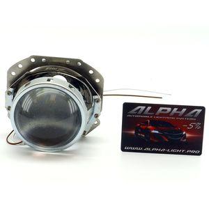 """замена линз Jaguar S-Type Биксеноновые линзы Alpha Hella 2R Classic 3.0"""" с ручной настройкой Ягуар Эс тайп"""
