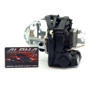 """замена линз Range Rover 3 2005-2009 Биксеноновые линзы Alpha Hella 2R Classic 3.0"""" с ручной настройкой  РенджРовер 3"""
