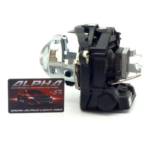 """замена линз Ford Galaxy Биксеноновые линзы Alpha Hella 2R Classic 3.0"""" с ручной настройкой Форд Гелекси Галакси"""