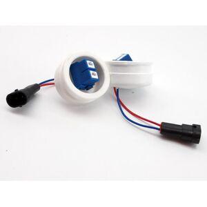 Комплект переходников с заглушкой с лампы H11 на лампу H7 (диаметр заглушки 50мм)