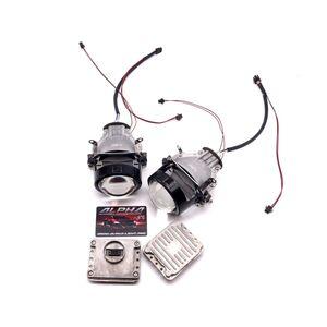 Светодиодные билинзы Biled Alpha №5 для BMW X5 E70 (2006-2013)