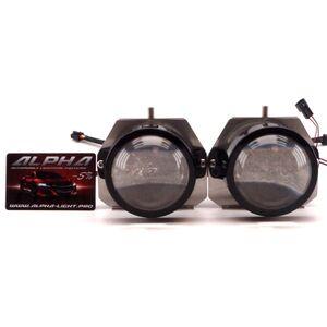 Светодиодные билинзы Biled Alpha №5 для Infiniti EX35 (2007-2013) с системой AFS