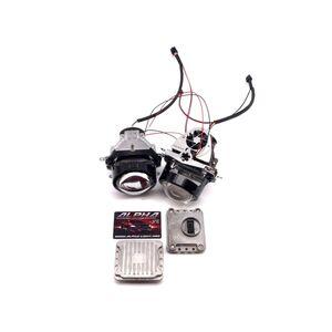 Светодиодные билинзы Biled Alpha №5 для Infiniti QX80 Z62 (2013-2014) с системой AFS