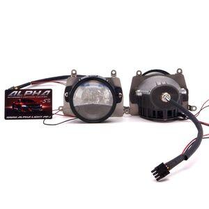 Светодиодные билинзы Biled Alpha №5 для Hyundai Solaris (2010-2014)
