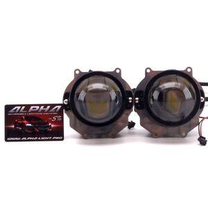 Светодиодные билинзы Biled Alpha №5 для Acura MDX 2 (2006-2013)