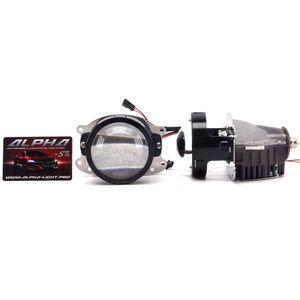 Светодиодные билинзы Biled Alpha №5 для Honda Accord CL8 (2007-2013)