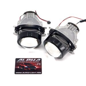 Светодиодные билинзы Biled Alpha №5 для Honda Accord CL7 (2002-2008)