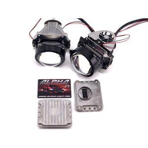 Светодиодные билинзы Biled Alpha №5 для Audi A4 B6 (2000-2006)