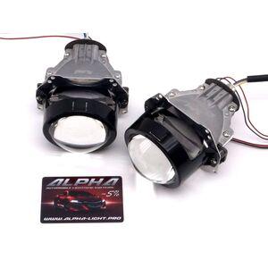 Светодиодные билинзы Biled Alpha №5 для Audi A6 C7 (2011-2014) с креплением под Hella 3