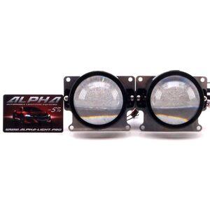 Светодиодные билинзы Biled Alpha №5 для Audi Q7 (2005-2015)