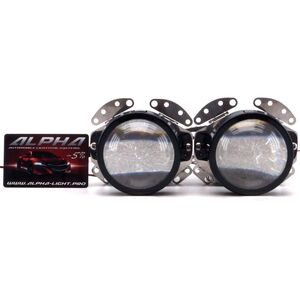 Светодиодные билинзы Biled Alpha №5 для RangeRover Sport (2005-2009) с креплением под Hella 2