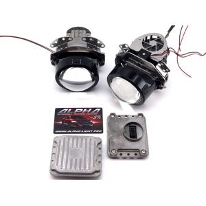 Светодиодные билинзы Biled Alpha №5 для Ford Explorer 5 (2010-2016) с креплением под Hella 2