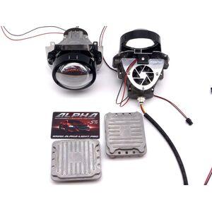 Светодиодные билинзы Biled Alpha №5 для Opel Insignia (2008-2013) с креплением под Hella Intellect