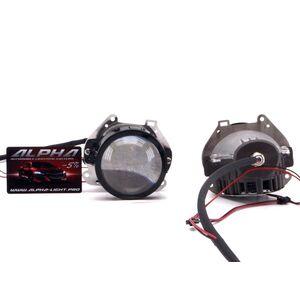 Светодиодные билинзы Biled Alpha №5 для Toyota Sienna (2010-2014)