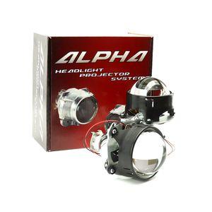 Биксеноновые линзы Alpha Morimoto H1 3 дюйма 8 поколение купить недорого