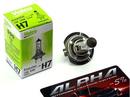 Галогеновая лампа H7 Valeo Essential (standart) 12v 55w 032 009