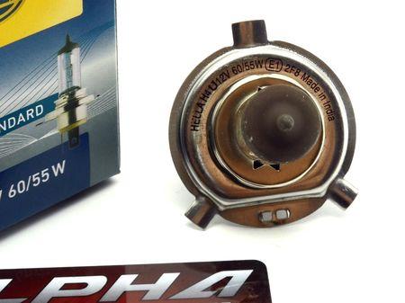 Галогеновая лампа H4 Hella Standart 12v 60/55w 8GJ 002 525-131