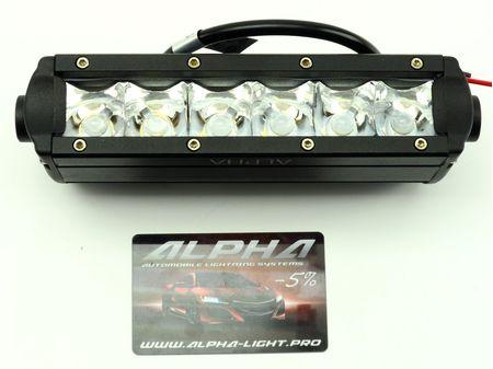 Светодиодная балка 30Вт 30w Cree 5w 6 led светодиодов led cree lightbar