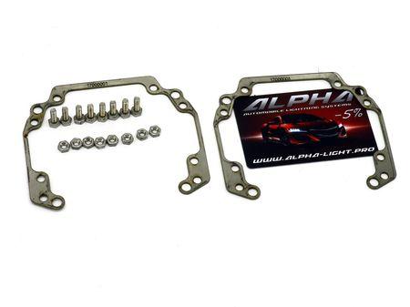 Рамки переходные Audi A5 для замены линз Valeo New на линзы Hella 3, Hella R и Koito Q5 (без системы AFL/AFS)
