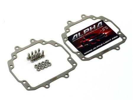 Mitsubishi Delica D5 переходные рамки Митсубиси Делика купить недорого  Hella 3, Hella R и Koito Q5