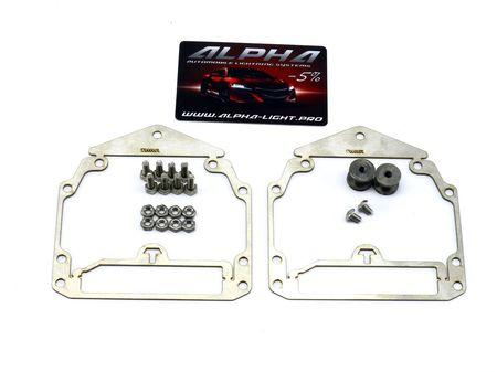 Рамки переходные Audi Q5 адаптив AFS AFL для замены линз Valeo New на линзы Hella 3, Hella R и Koito Q5