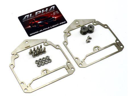 Рамки переходные Audi Q7 адаптив AFS AFL для замены линз Valeo New на линзы Hella 3, Hella R и Koito Q5