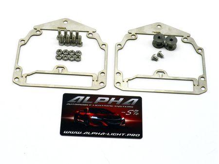 Рамки переходные Volvo S60 2000-2010 адаптив AFS AFL для замены линз Valeo New на линзы Hella 3, Hella R и Koito Q5