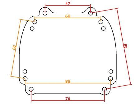 Mazda 6 2013-2015 комплект отражателей для фар Мазда 6 2013-2015