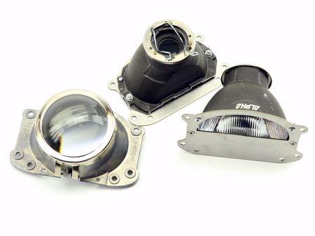 Honda Accord CL-8 2007-2013 ремонтный комплект фар и отражателей