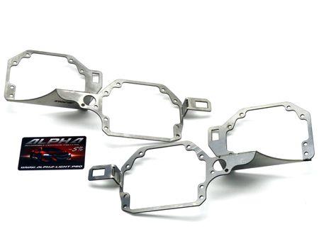 Lexus GX 470 переходные рамки Лексус ГХ470 купить недорого  Hella 3, Hella R и Koito Q5