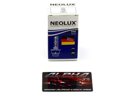 Ксеноновая лампа NeoLux D4S NX4S Original неолюкс оригинал купить недорого с доставкой д4с