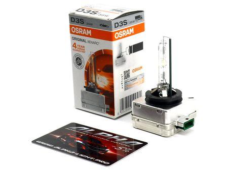 Ксеноновая лампа Osram D3S Xenarc Original осрам ксенарк оригинал 66340 купить недорого с доставкой д3с