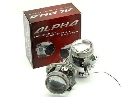 """Биксеноновые линзы Alpha Hella 2R Classic 3.0"""""""
