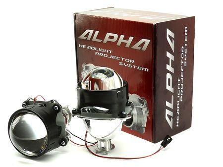 """Биксеноновые линзы Alpha Morimoto H1 3.0"""" G8"""