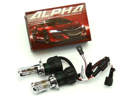 БиКсеноновая автомобильная лампа Alpha H4
