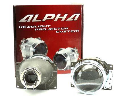 Бигалогеновые линзы Alpha Koito Q5 H7 купить недорого