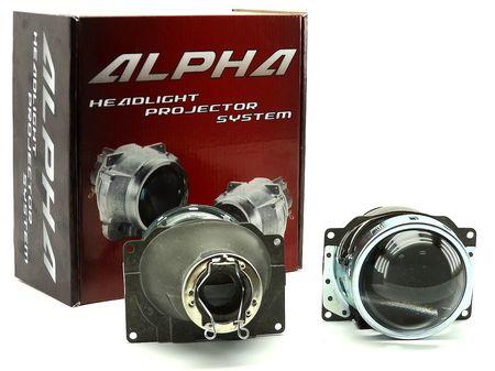Биксеноновые линзы Alpha Koito Q5 H7 купить оптом недорого