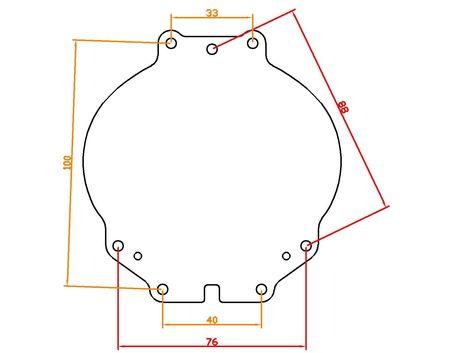 Мазда 6 GH 2007-2013 галоген ремонтный комплект фар Мазда 6 GH