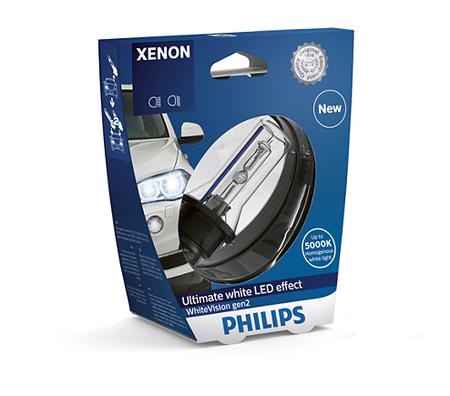 Ксеноновая лампа PHILIPS D1S  Xenon WhiteVision gen2 85415WHV2S1