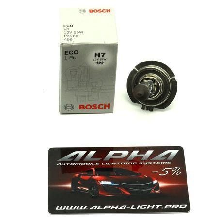 Галогеновая лампа H7 Bosch Eco 12v 55w 1 987 302 804