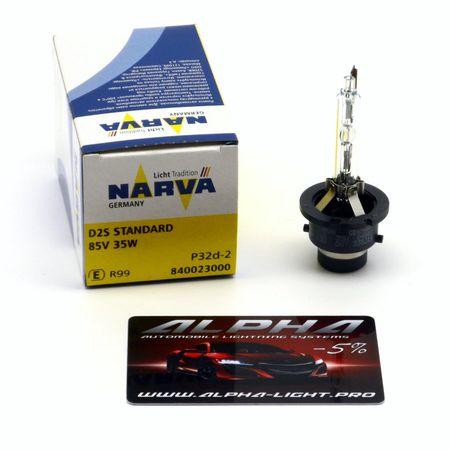 Ксеноновая лампа Narva D4S 84042 Original нарва оригинал купить недорого с доставкой д4с