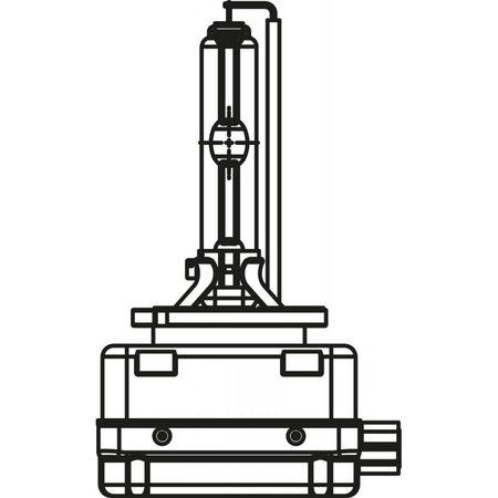 Ксеноновая лампа  PHILIPS XENON X-TREME VISION D1S 85415XVC1